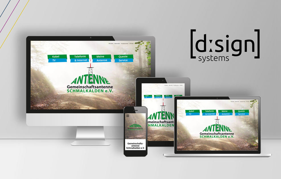 dSign Systems // Mockup // queste.tv